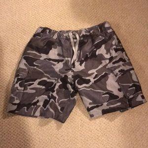 XL (40/42) Men's OP brand camo swim trunks